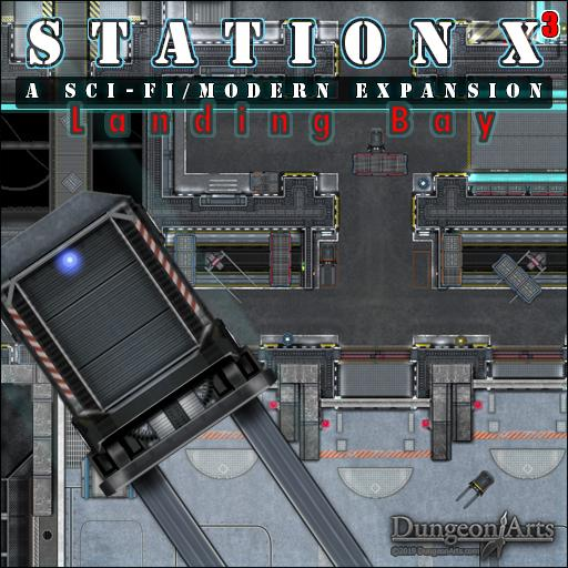 Station X3 Sci-Fi Expansion