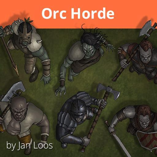 Jans Token Pack 13 - Orc Horde