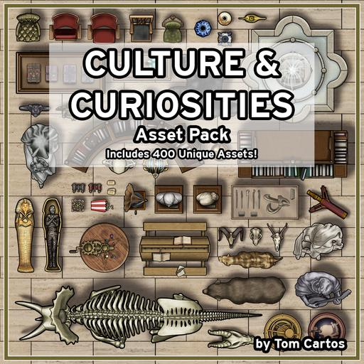 Culture & Curiosities Asset Pack