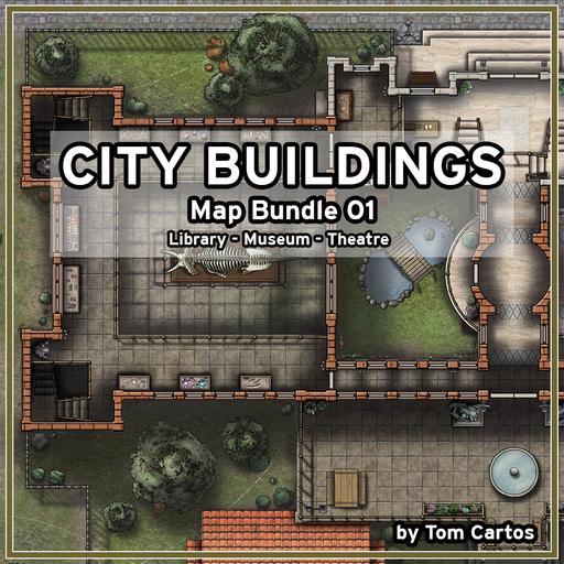 City Buildings Map Bundle 01