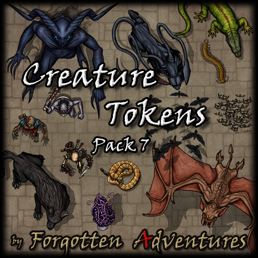 Creature Tokens - Pack 7