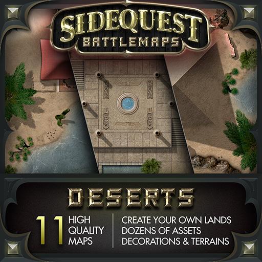 Sidequest Battlemaps: Deserts