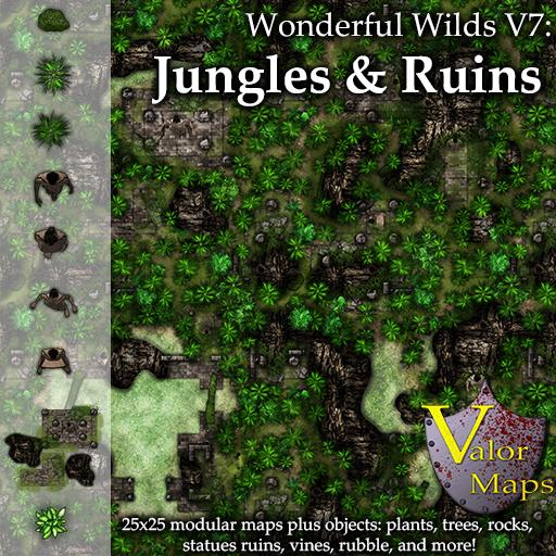 Wonderful Wilds V7: Jungles and Ruins