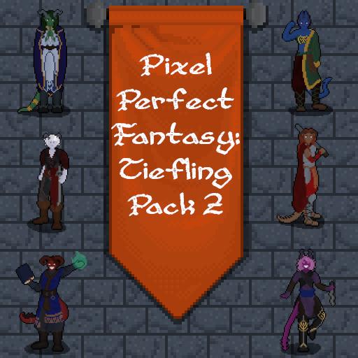 Pixel Perfect Fantasy: Tiefling Pack 2