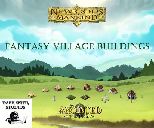 Fantasy Village Buildings