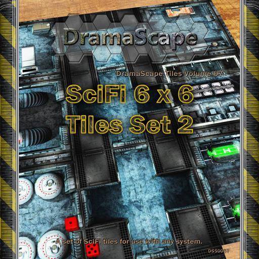 SciFi Floor Tiles Set 2