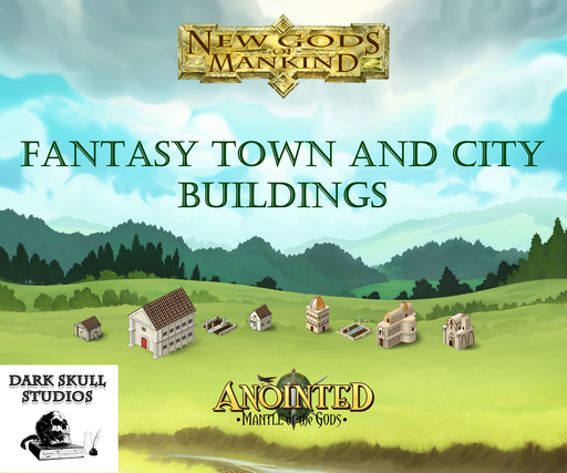 Fantasy Town and City Buildings