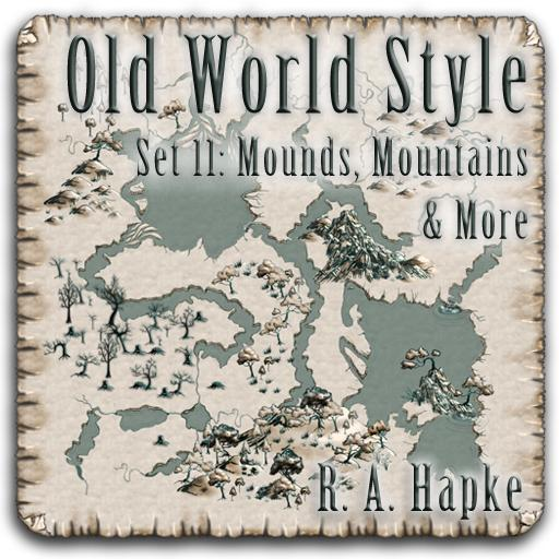 Old World Style Set 11: Mounds, Mountains & More