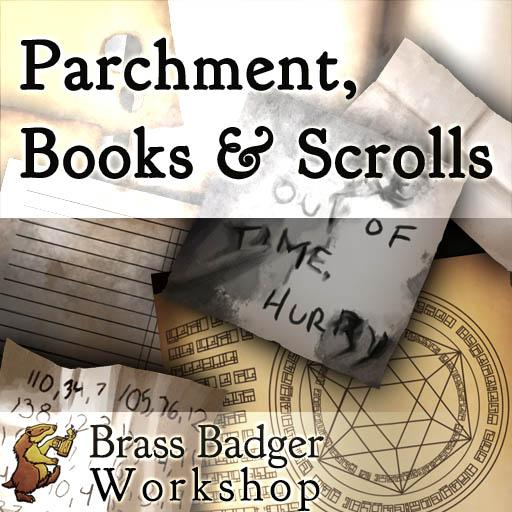Parchment, Books, and Scrolls
