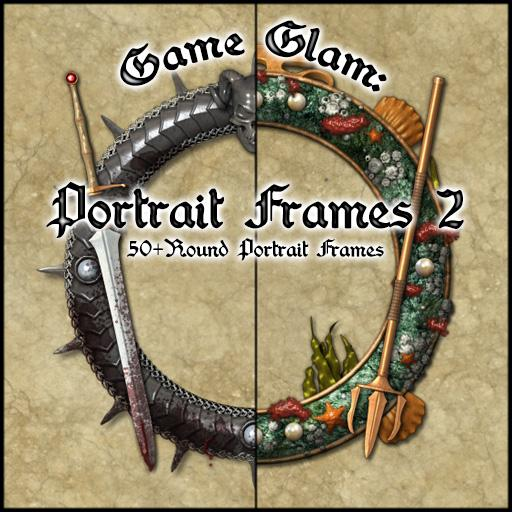 Game Glam: Portrait Frames 2