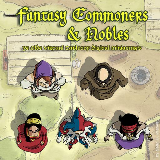 Shambles' Fantasy Commoners & Nobles