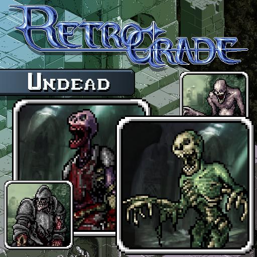 Retrograde Minis - Undead