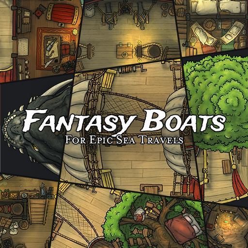 Fantasy Boats