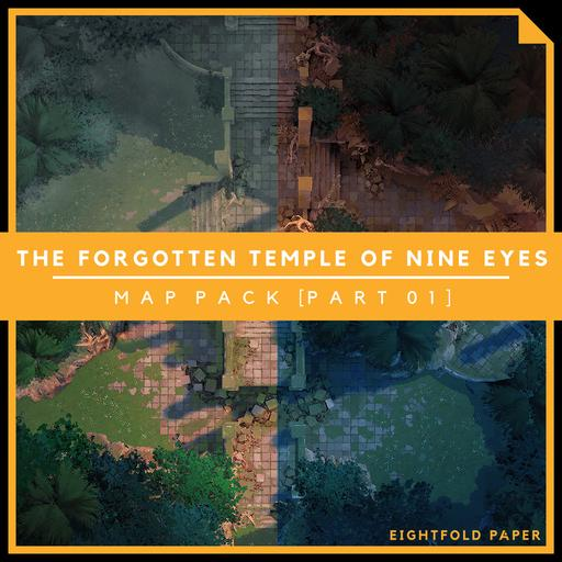 The Forgotten Temple of Nine Eyes [Part 1] - Battlemap