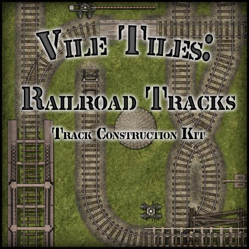Vile Tiles: Railroad Tracks
