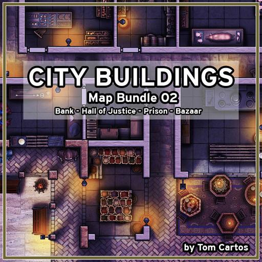City Buildings Map Bundle 02