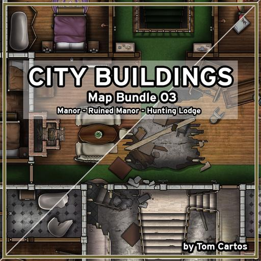 City Buildings Map Bundle 03