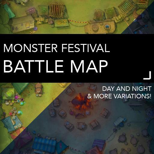 Monster Festival DnD Battlemaps