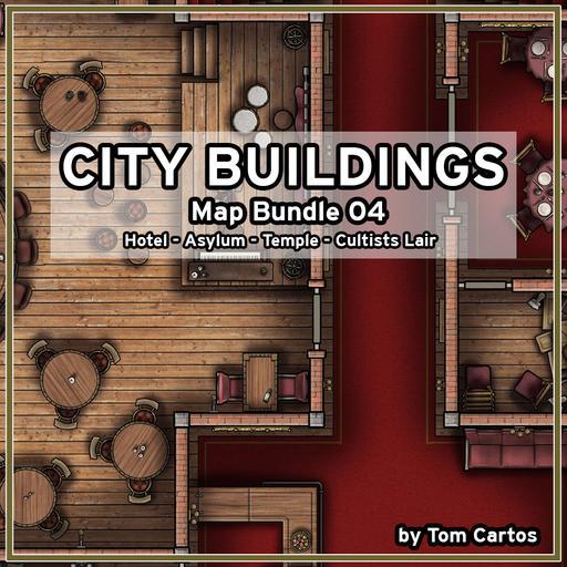 City Buildings Map Bundle 04