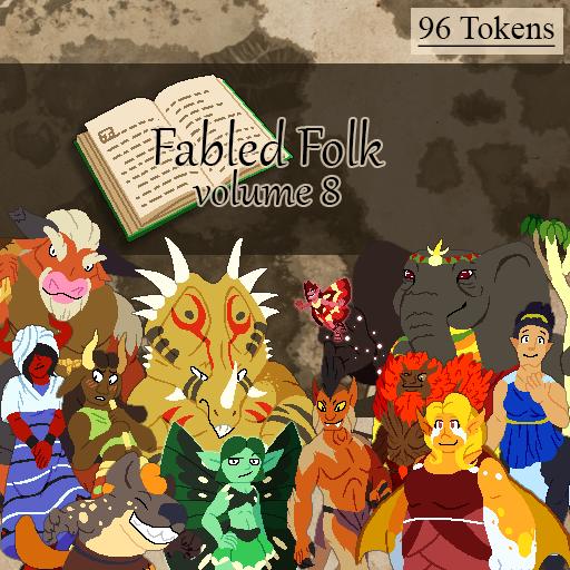 Fabled Folks Volume 8