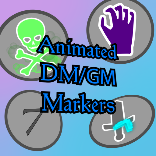 Animated GM/DM Tokens