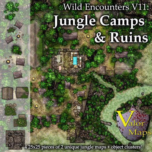 Wild Encounters V11 Jungle Camps and Ruins
