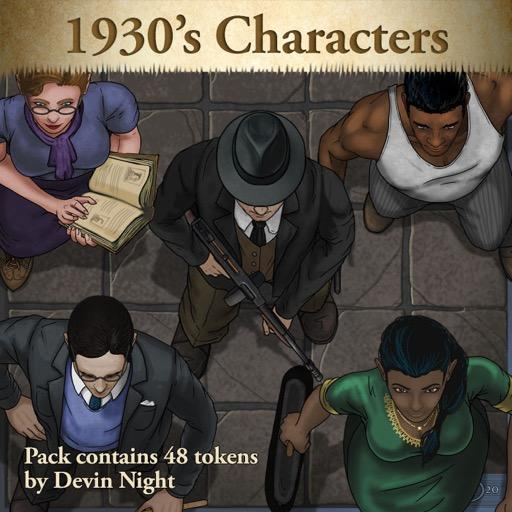 1930's Characters