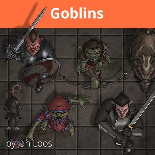 Jans Token Pack 14 - Goblins