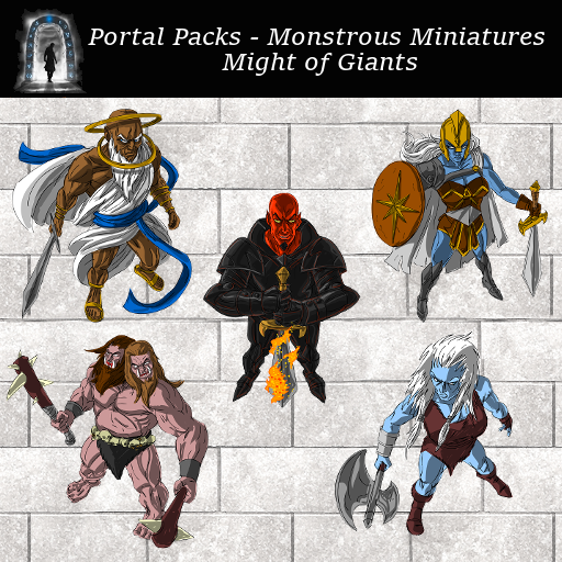 Portal Packs - Monstrous Miniatures - Might of Giants