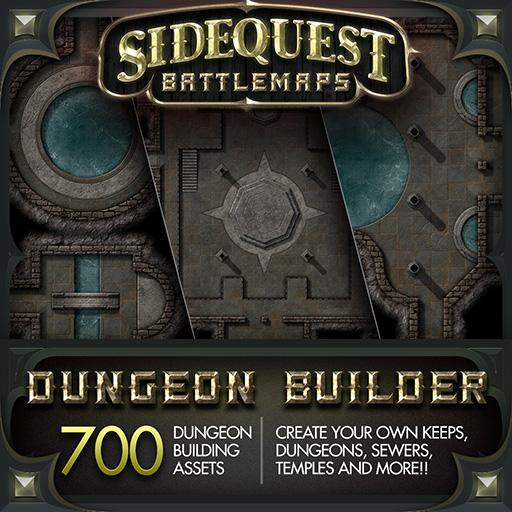 Sidequest Battlemaps: Dungeon Builder