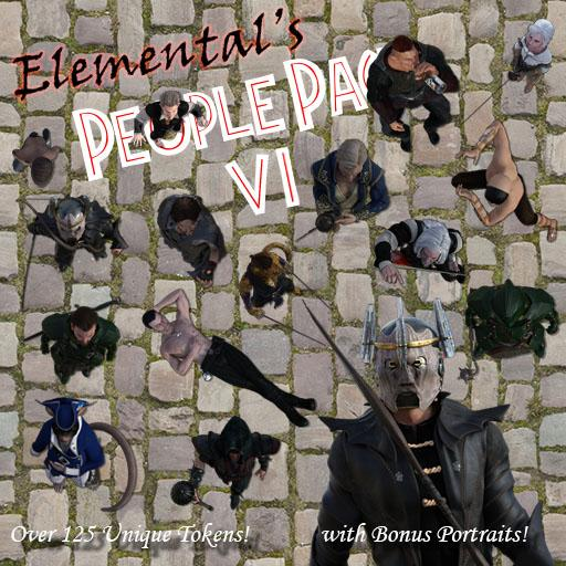 Elemental's People Pack 6