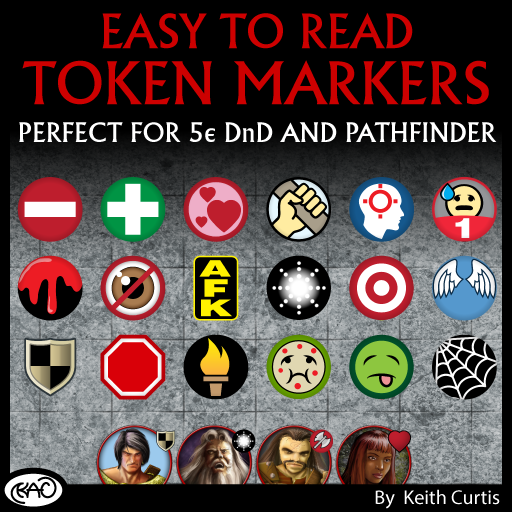 Easy to Read Token Markers