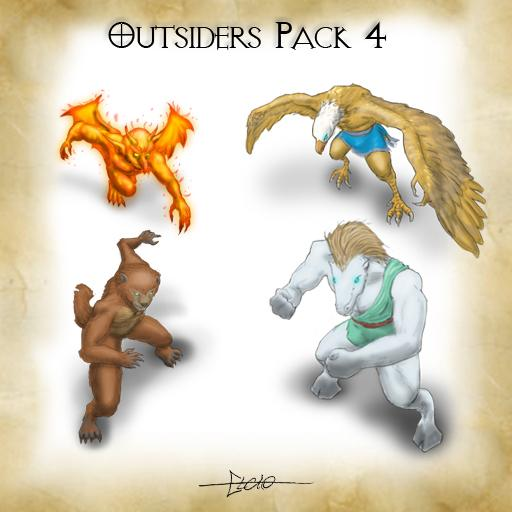 Outsiders Pack 4