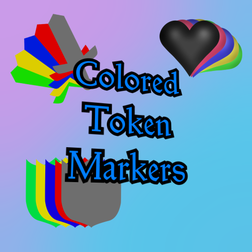 Colorful Token Markers