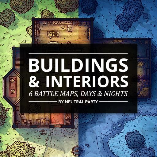 Buildings & Interiors Map Pack 1