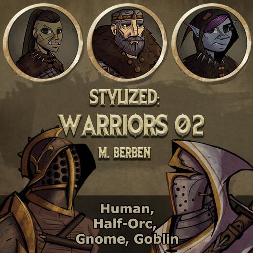Stylized: Warriors 02