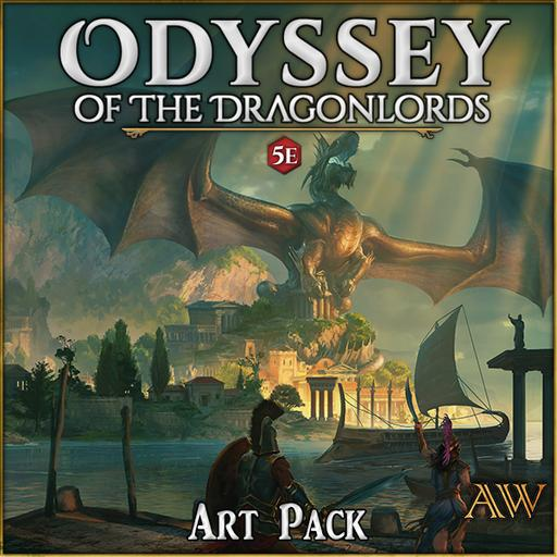 Odyssey of the Dragonlords Art Pack