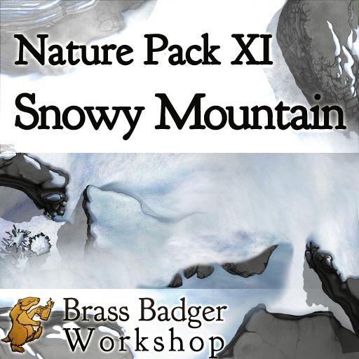 Nature Pack XI - Snowy Mountain
