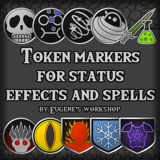 Comprehensive Token Markers for Status Effects and Spells