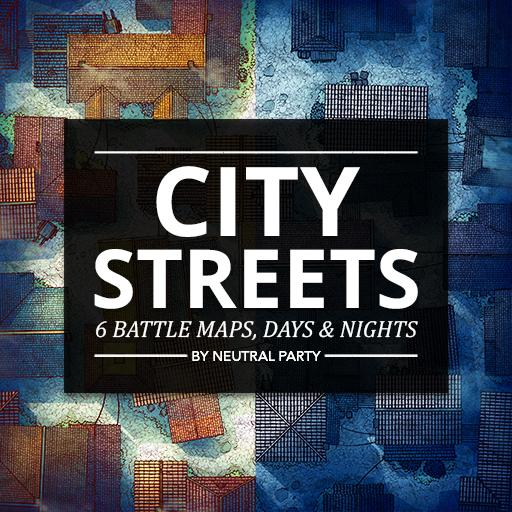 City Streets Map Pack 1