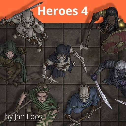 Jans Token Pack 15 - Heroes 4