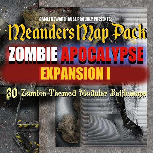 Meanders Map Pack ZOMBIE APOCALYPSE CITY Expansion I