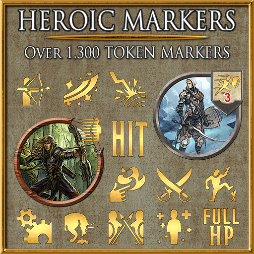 Heroic Markers: Gold Part 3