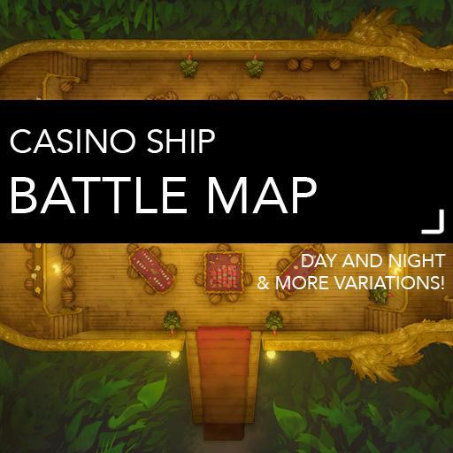 Casino Ship Battlemaps