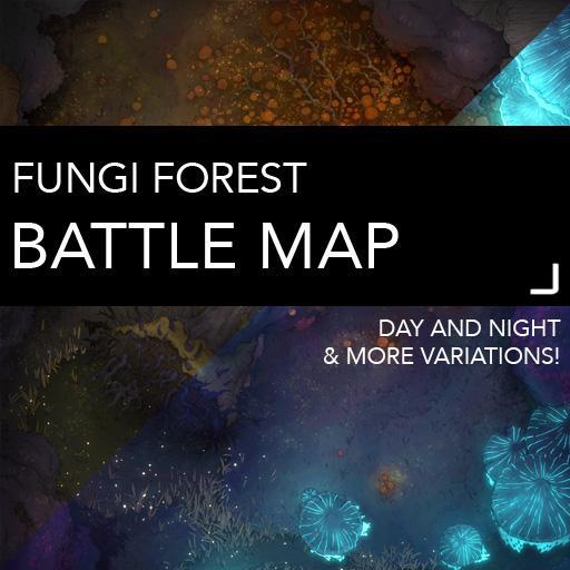 Fungi Forest Battlemaps