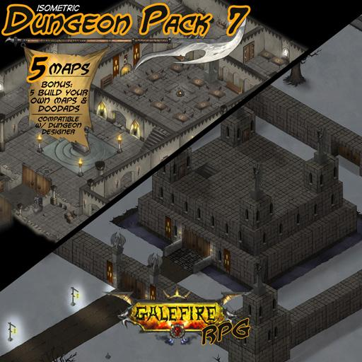 Isometric Dungeon Pack 7 - Winter Keep