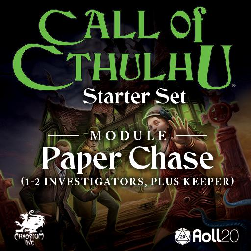 CoC Starter Set: Paper Chase Module