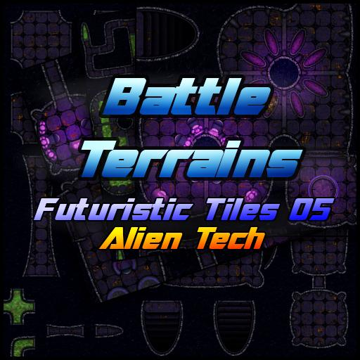 Battle Terrains Futuristic Tiles 05