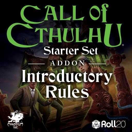 CoC Starter Set: Introductory Rules Addon