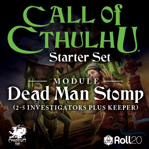 CoC Starter Set: Dead Man Stomp Module